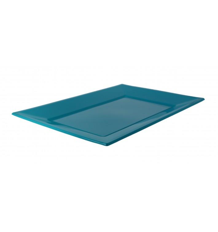 Plastiktablett Türkis 330x225mm (3 Stück)