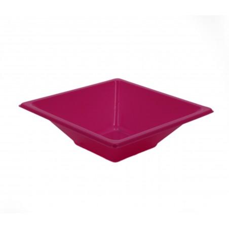 Viereckige Plastikschale Pink 120x120x40mm (720 Stück)