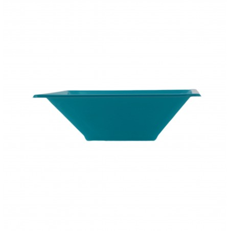 Viereckige Plastikschale Türkis 120x120x40mm (720 Stück)