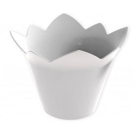 """Plastikschüssel """"Wasserlilie"""" weiß 70 ml (25 Stück)"""