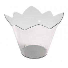 "Plastikschüssel ""Wasserlilie"" Transparent 70 ml (25 Stück)"
