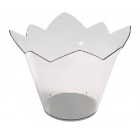"Plastikschüssel ""Wasserlilie"" Transparent 70 ml (500 Stück)"