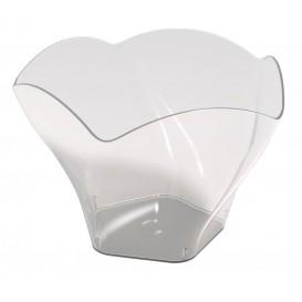 Plastikschüssel Rose Transparent 90 ml (25 Stück)