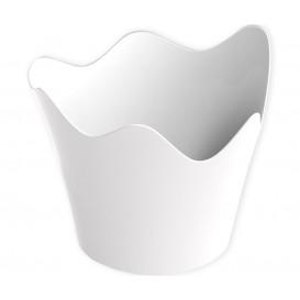 Plastikschüssel Rain weiß 90 ml (500 Stück)