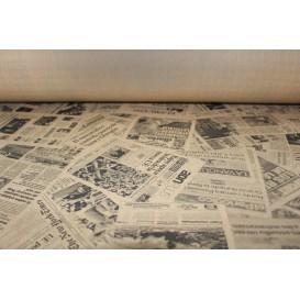 "Papiertischdecke Rolle ""Zeitung"" Kraft 1,2x100m 37g (6 Stück)"