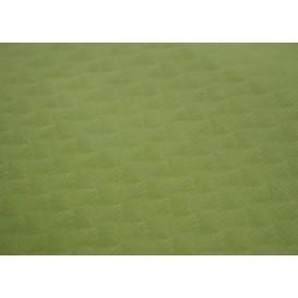 Papiertischdecke Pistaziengrün 1x1 Meter 40g (400 Stück)