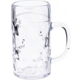 Maßkrug für Bier Transp. Ø105mm 1000ml (6 Stück)