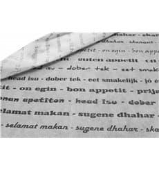 """Tischdecke Novotex Polypropylen """"Guten Appetit"""" 120x120cm (150 Stück)"""