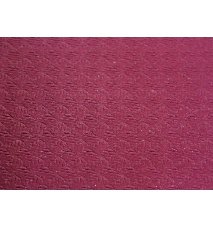 Papiertischdecke Zuschnitt bourdeaux 1x1m 40g (400 Stück)