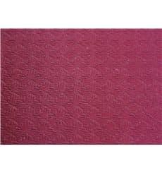 Papiertischdecke geschnitten bourdeaux 1x1m 40g (400 Stück)