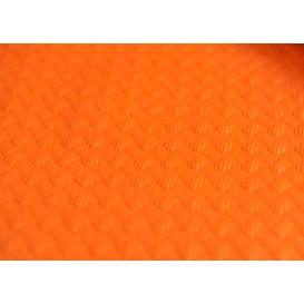 Papiertischdecke  Orange 1x1 Meter 40g (400 Stück)