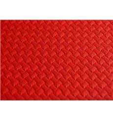 Papiertischdecke  Rot 1x1 Meter 40g (400 Stück)