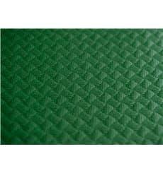 Papiertischdecke Grün 1x1 Meter 40g (400 Stück)