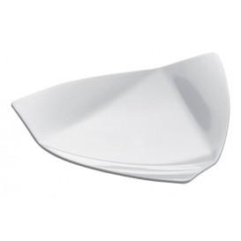 "Plastikteller ""Vela"" weiß 8,5x8,5 cm (50 Stück)"