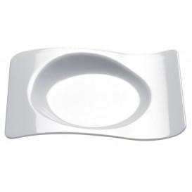 """Plastikteller """"Forma"""" weiß 8,0x6,6 cm (50 Stück)"""