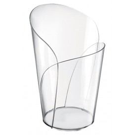 """Plastikbecher """"Blossom"""" Transparent 90ml (15 Stück)"""