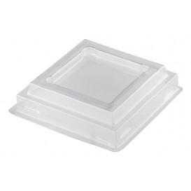 "Deckel für Plastikbecher ""Onda"" Transp. PET 100ml (1000 Stück)"