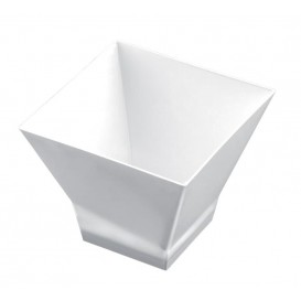"Plastikbecher ""Pagoda"" Weiß 65ml (25 Stück)"