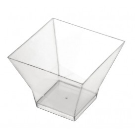 "Plastikbecher ""Pagoda"" Transparent 65ml (25 Stück)"