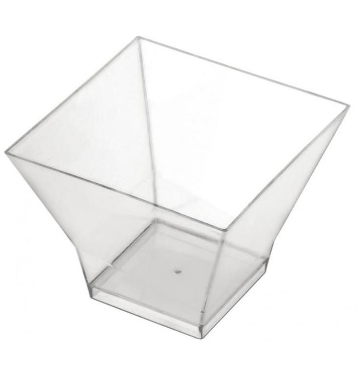 "Plastikbecher ""Pagoda"" Transparent 120ml (500 Stück)"