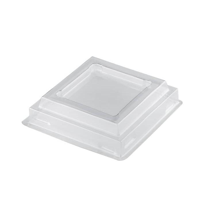 "Deckel für Plastikbecher ""Pagoda"" Transp. PET 120ml (1000 Stück)"