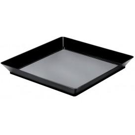 "Plastiktablett ""Medium""Schwarz 13x13 cm (192 Stück)"