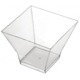 "Plastikschüssel ""Pagoda"" Transparent 150 ml (240 Stück)"