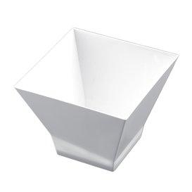 "Plastikschüssel ""Pagoda Medium"" 200ml Weiß. (240 Stück)"