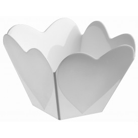 "Plastikschüssel ""Cupido""weiß 68 ml (25 Stück)"