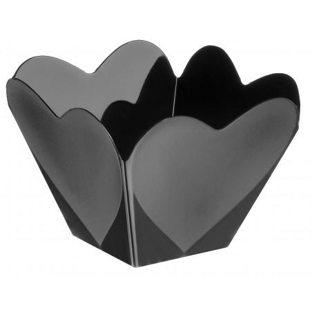 """Plastikschüssel """"Amor""""Schwarz 68 ml (25 Stück)"""