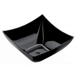 """Plastikschüssel """"Square"""" Schwarz 90 ml (500 Stück)"""