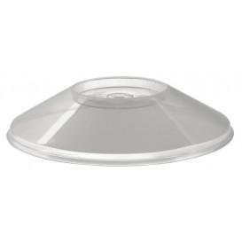 """Deckel für Plastikschüssel """"Dessert"""" Transparent 230 ml (50 Stück)"""
