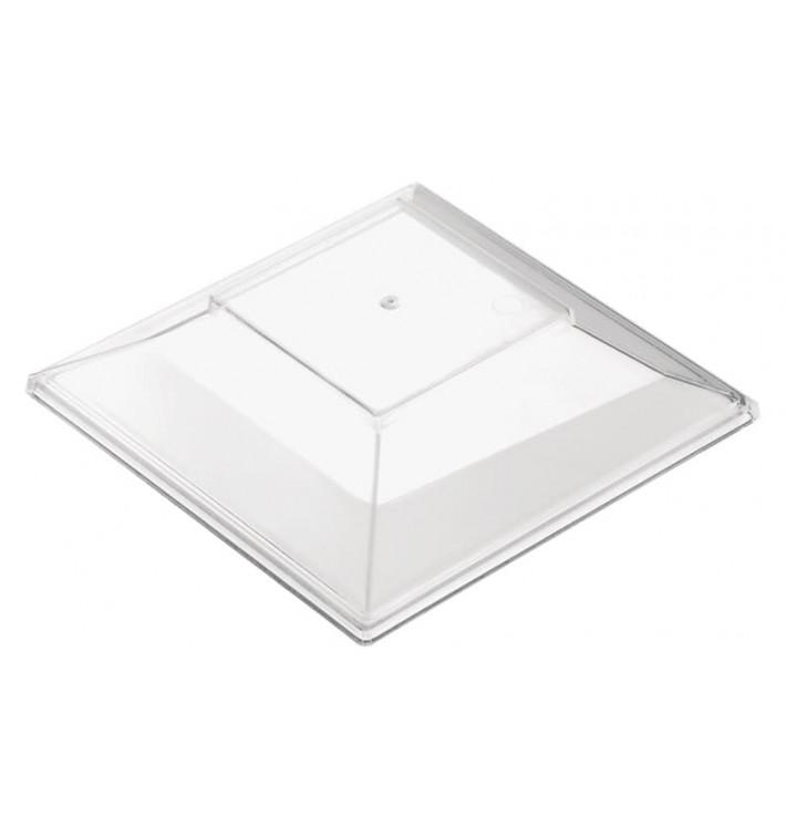 "Deckel für Plastikschüssel ""Pagoda Medium"" Transp. 200 ml (12 Stück)"