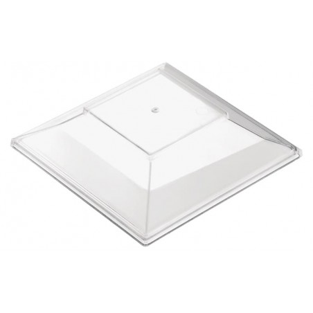 "Deckel für Plastikschüssel ""Pagode Medium"" Transp. 200 ml (240 Stück)"