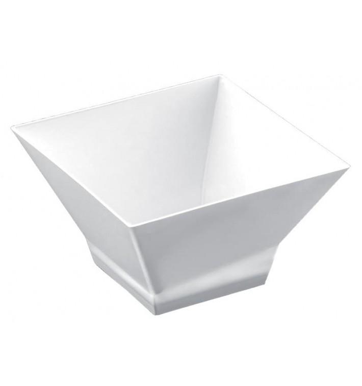 "Plastikschüssel ""Pagoda"" Weiß 350 ml (12 Stück)"