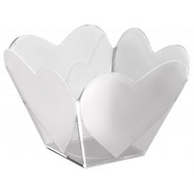 """Plastikschüssel """"Cupido""""Transparent 68 ml (500 Stück)"""