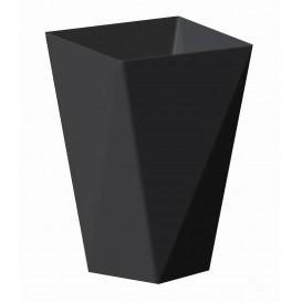 "Plastikbecher ""Diamond"" Schwarz 150 ml (240 Stück)"