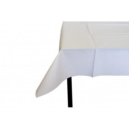 Papiertischdecke geschnitten weiß 1x1m 40g (480 Stück)