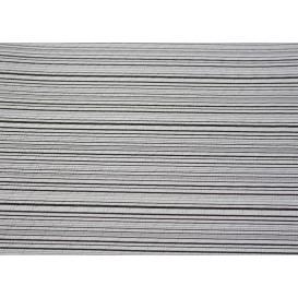 """Papiertischdecke 1x1m """"Basic Schwarz"""" 37g (400 Stück)"""