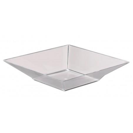 """Plastikschüssel """"Pagode"""" Transparent 1250ml (6 Stück)"""