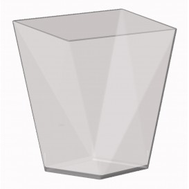 "Plastikbecher ""Diamond"" Transparent 100 ml (25 Stück)"