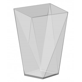 "Plastikbecher ""Diamond"" Transparent 150 ml (12 Stück)"