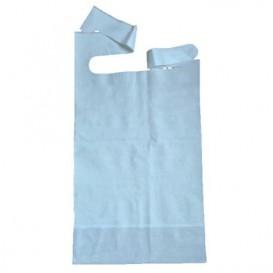 Lätzchen für Erwachsene mit Tasche Blau (500 Stük)