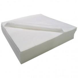 Einmal-Badetuch Air Laid weiß 40x90cm (25 Stück)