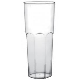 Plastikbecher Long Drink Transp. PP Ø65mm 350ml (180 Stück)