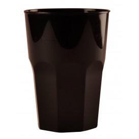 Plastikbecher für Cocktail Schwarz PP Ø84mm 270ml (200 Stück)