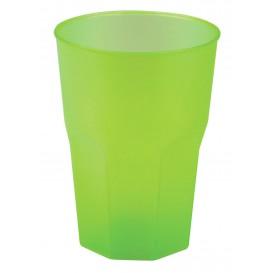 Becher aus Hartplastik Grasgrün PP 350ml (20 Stück)
