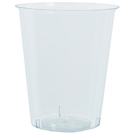 Transparente Plastikbecher PP 500ml (25 Einheiten)