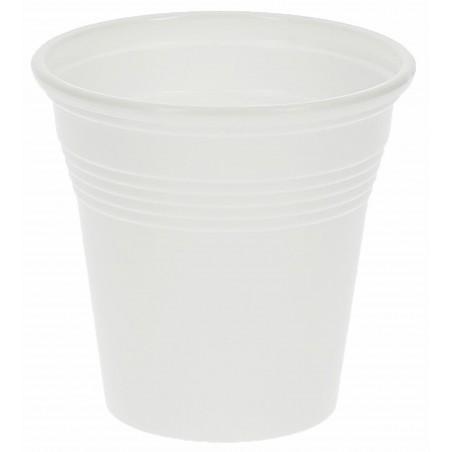 Plastikbecher weiß PS 80ml (50 Einheiten)