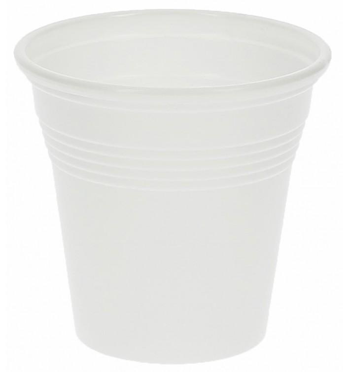 Plastikbecher weiß PS 80ml